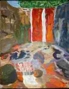 cascade de colores